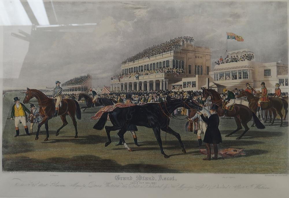 Charles Hunt, British 1803-1877- ''Grand Strand, Ascot'' after J F ...