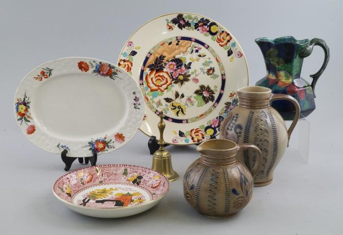 A Haviland Limoges plate, late 20th/ early 21st century, decorated