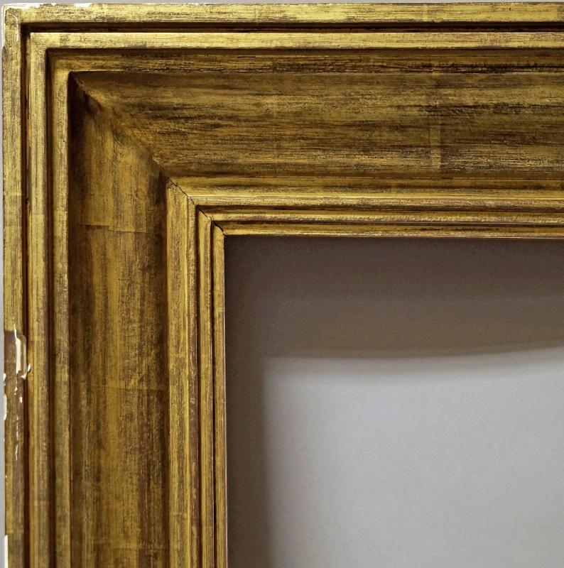 A Gilded Art Deco Moulding Paintings Drawings Prints Picture