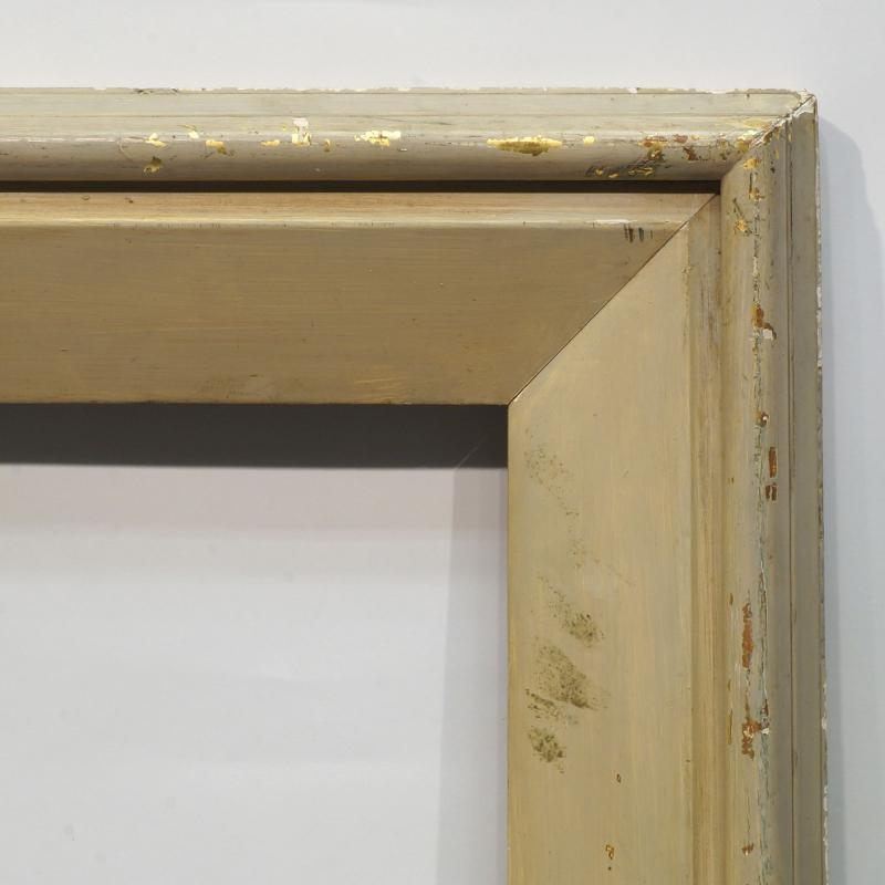 An English Grey Painted Art Deco Moulding Frame Mid 20th Century